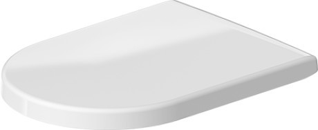 Toilet Seat for Darling New, Starck 2, and Starck 3 with Soft Close