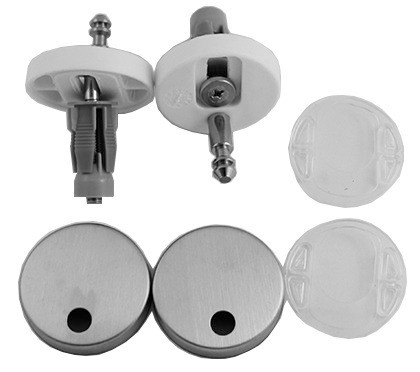 Stainless Steel Hinge Set for Seat and Cover with Soft Close