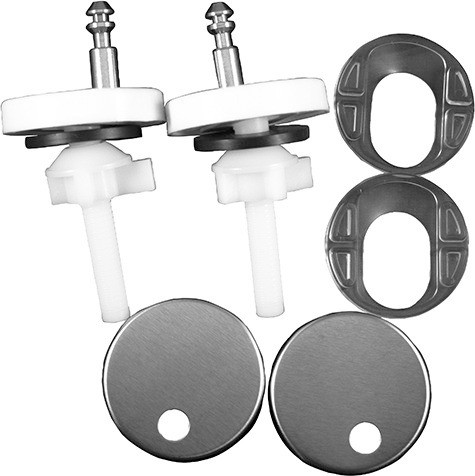 Plastic Hinge Set for Seat and Cover with Soft Close