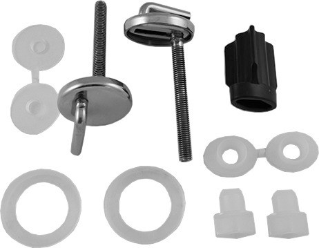 Stainless Steel Hinge Set for Seat and Cover